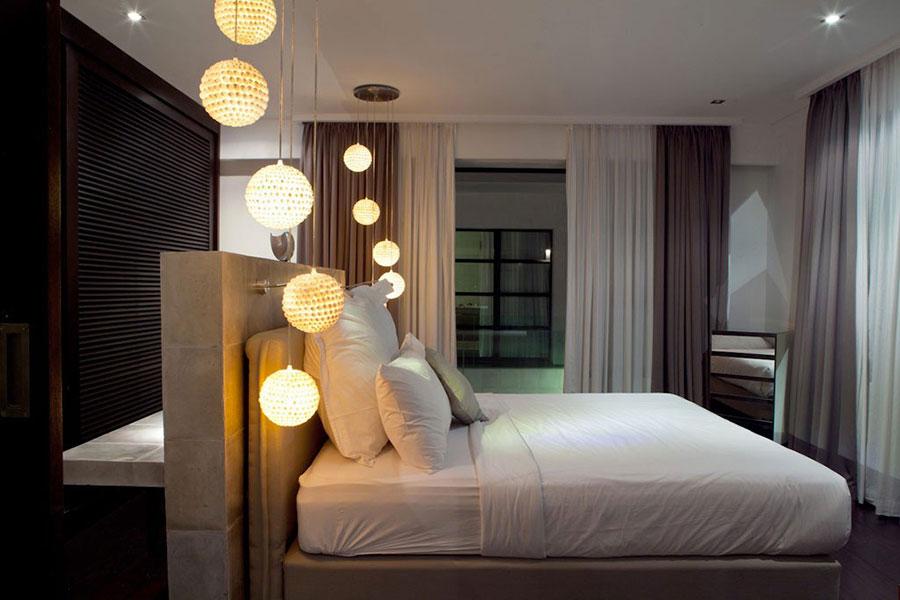 Lampada a sospensione per la camera da letto dal design moderno n.25