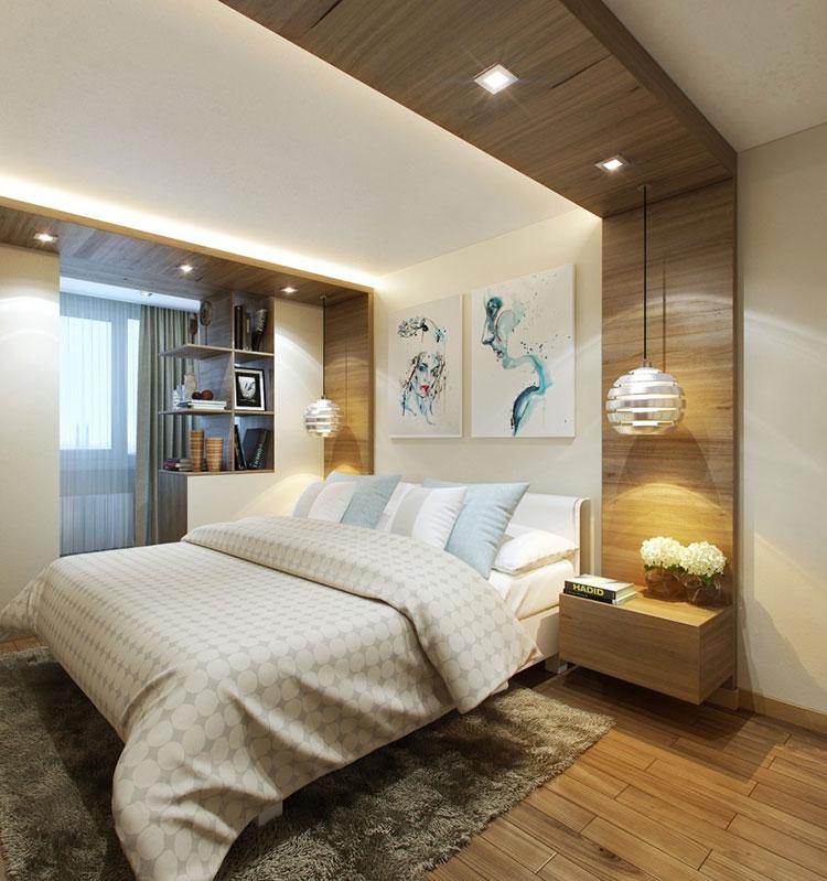 Idee per arredare una camera da letto beige n.19
