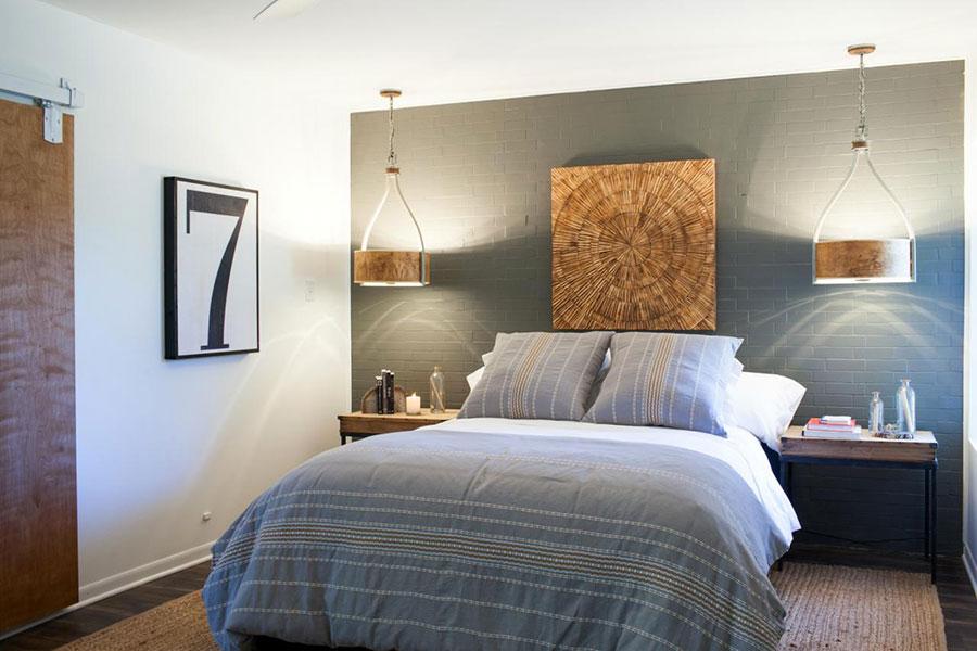 Lampada a sospensione per la camera da letto dal design moderno n.29