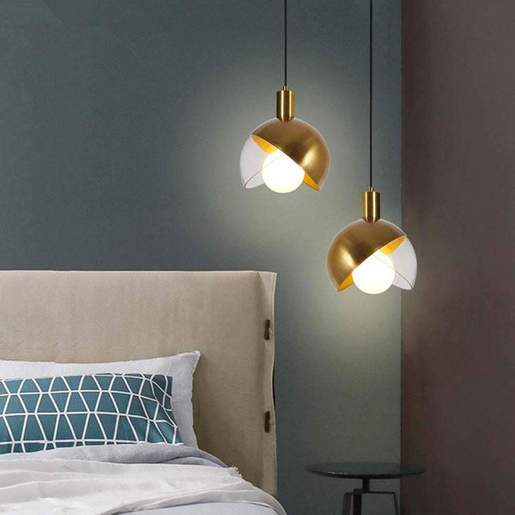 Modello di lampada a sospensione per la camera da letto n.37