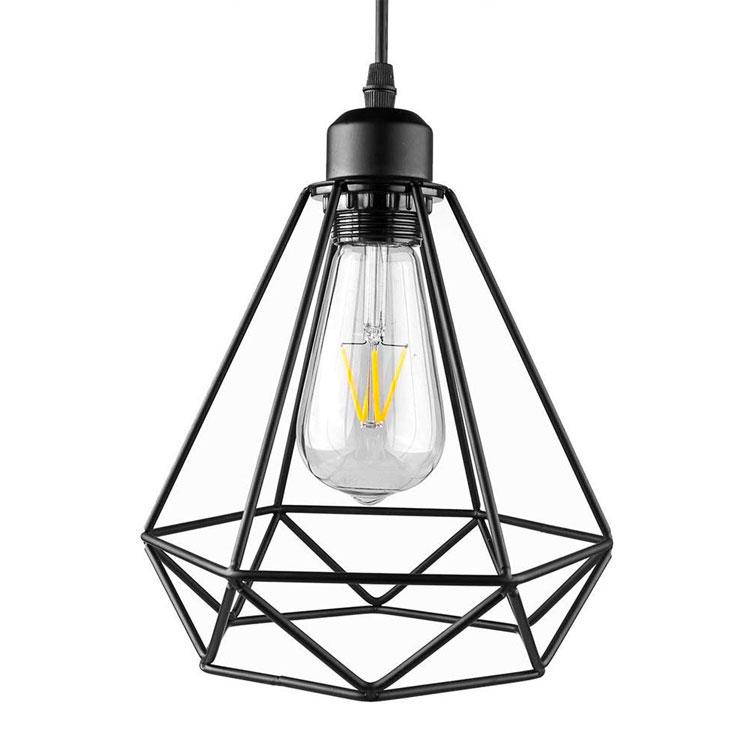Modello di lampada a sospensione per la camera da letto n.38