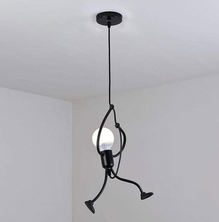 Modello di lampada a sospensione per la camera da letto n.40