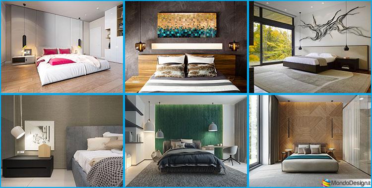 30 lampade a sospensione per la camera da letto dal design for Design moderno del letto