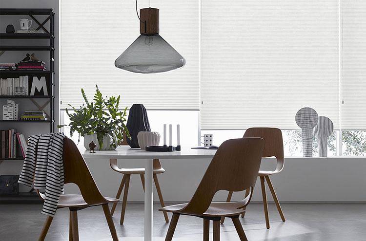 Modello di tenda plissettata per cucina moderna n.01