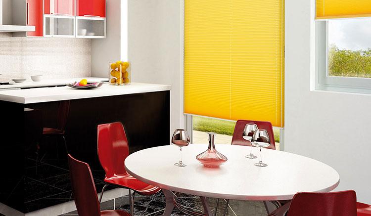 Tende Cucine Moderne. Gallery Of Colore Solido Faux Lino Tende ...