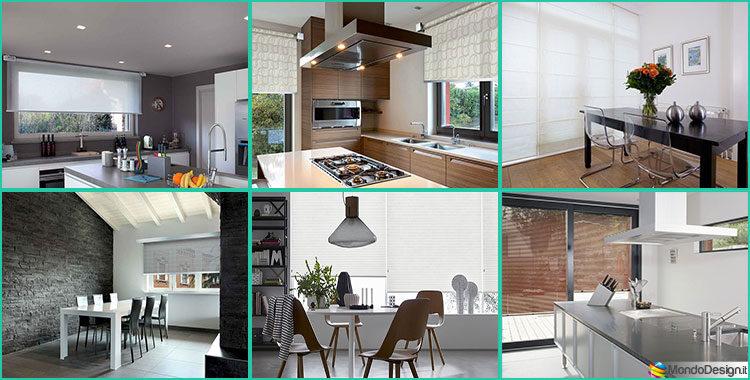 Idee per Tende da Cucina Moderne di Vari Modelli | MondoDesign.it