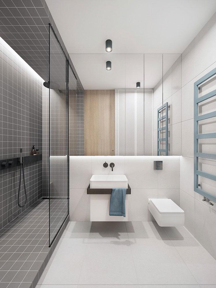 Bagni minimal tanti esempi di arredo dal design for Bagno arredo design