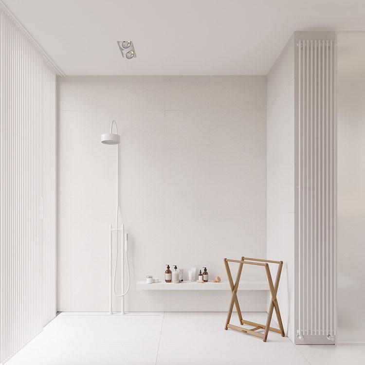 Idee per arredare un bagno bianco moderno n.14
