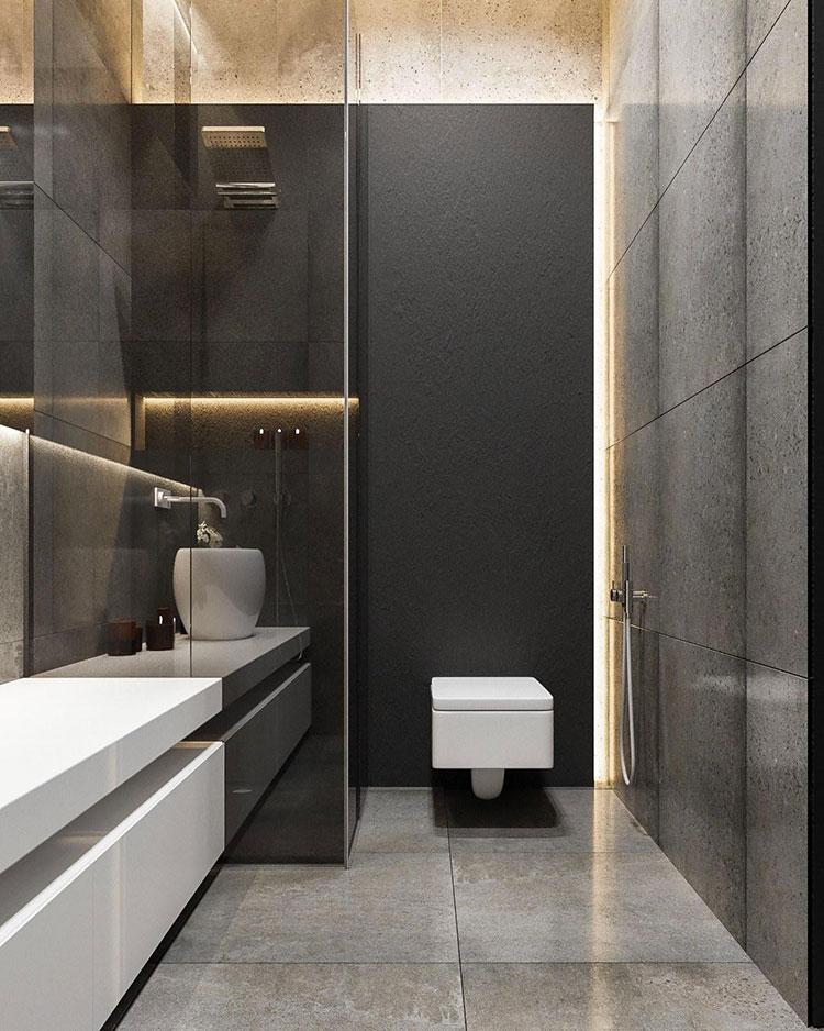 Bagni minimal tanti esempi di arredo dal design for Mobile bagno minimal