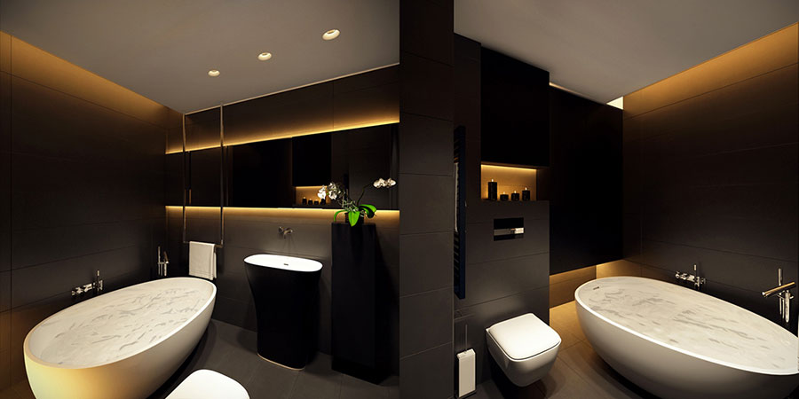 Accessori Bagno Design Minimale : Bagni minimal tanti esempi di arredo dal design sofisticato