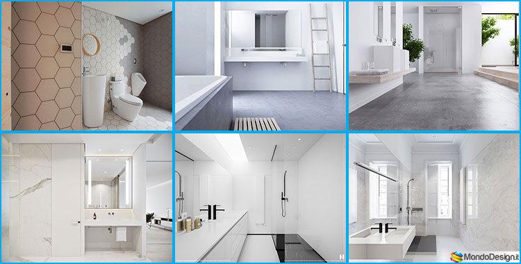 Bagni minimal tanti esempi di arredo dal design for Bagni di design 2016