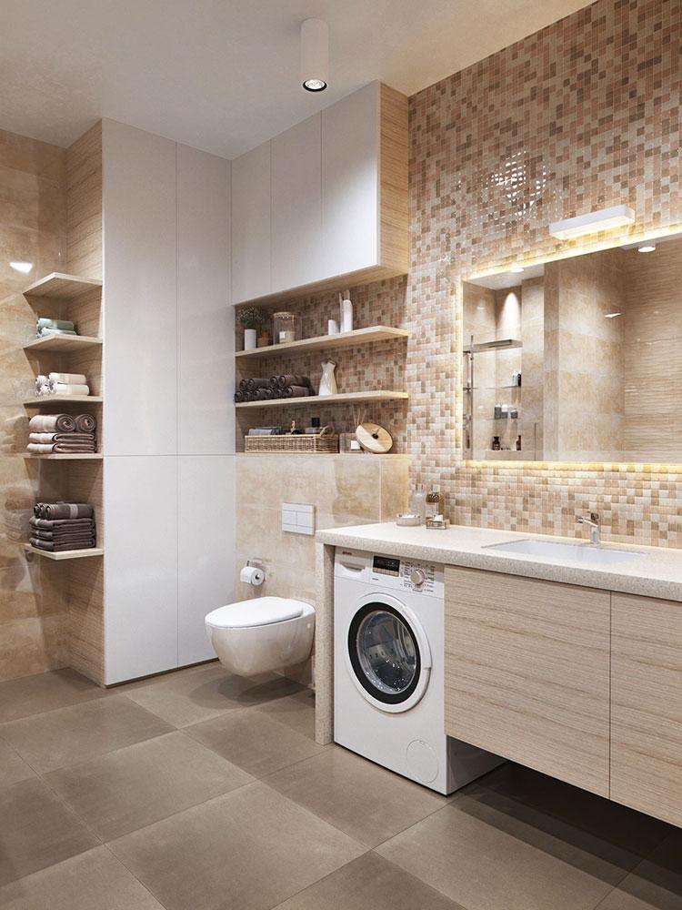 Arredamento per bagno minimal chic 1