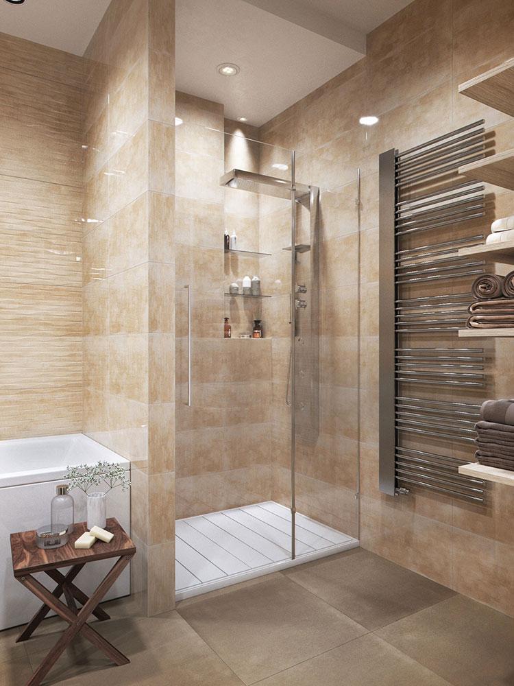 Arredamento per bagno minimal chic 2