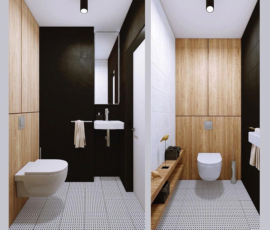 Arredamento per bagno minimal chic 4