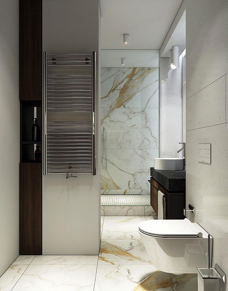 Arredamento per bagno minimal chic 5