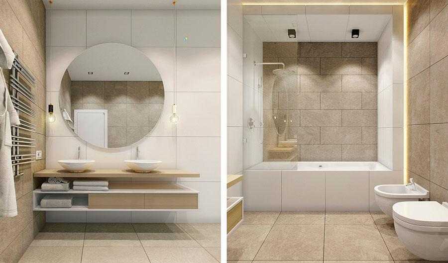 Arredamento per bagno minimal chic 6