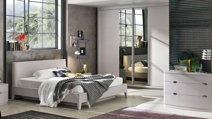 Modello di camera da letto di Accademia del Mobile n.1