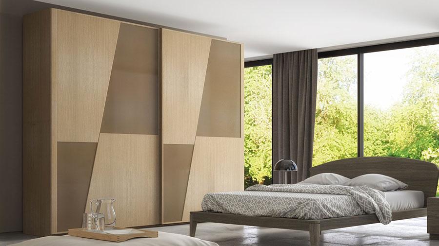 Modello di camera da letto di Accademia del Mobile n.2