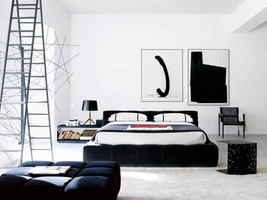 Modello di camera da letto di AB&B Italia n.1