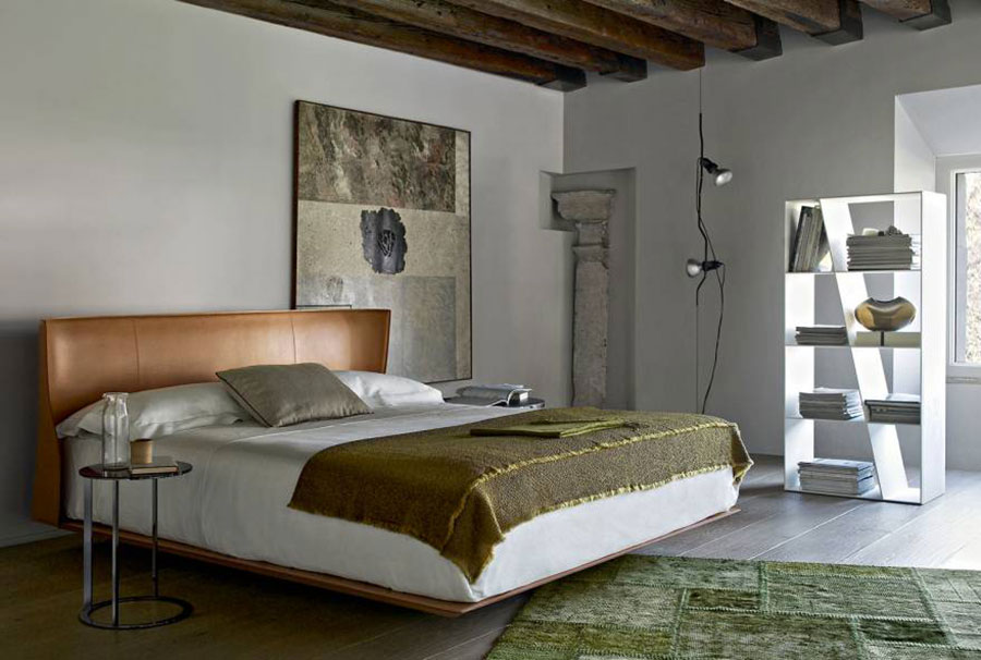 Modello di camera da letto di AB&B Italia n.5