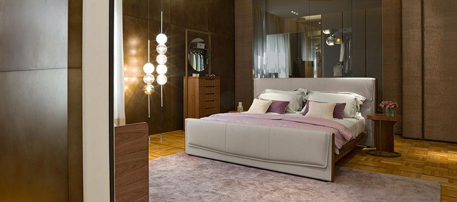 Modello di camera da letto di Giorgetti n.2