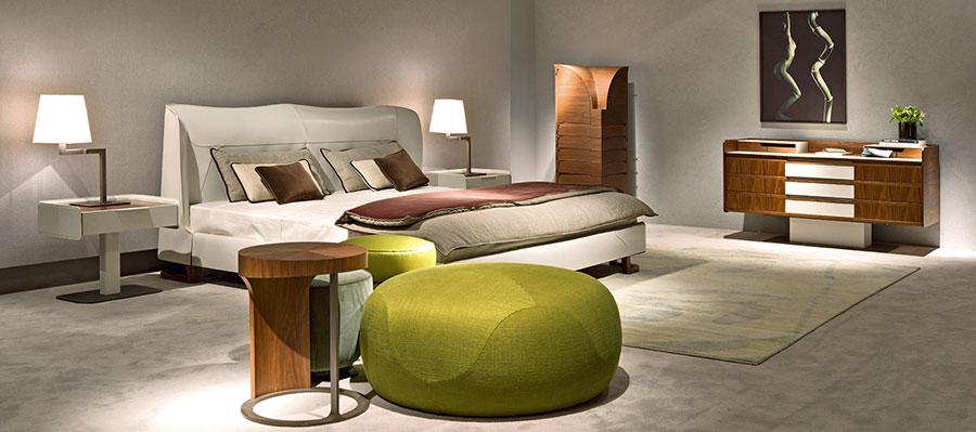 Modello di camera da letto di Giorgetti n.3