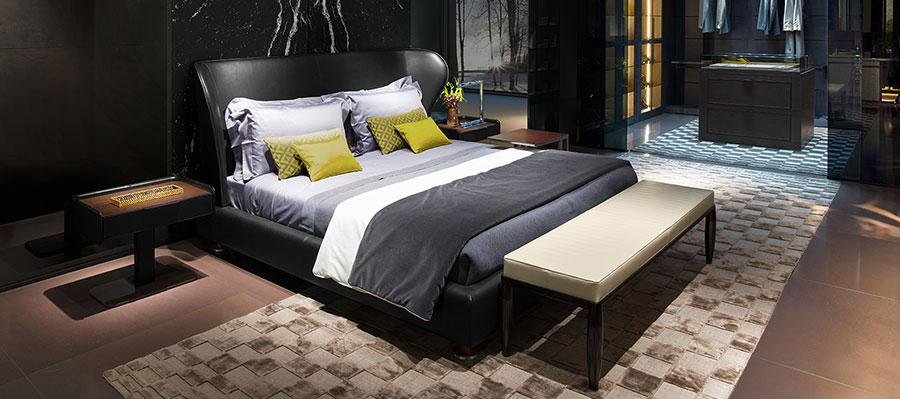 Modello di camera da letto di Giorgetti n.4