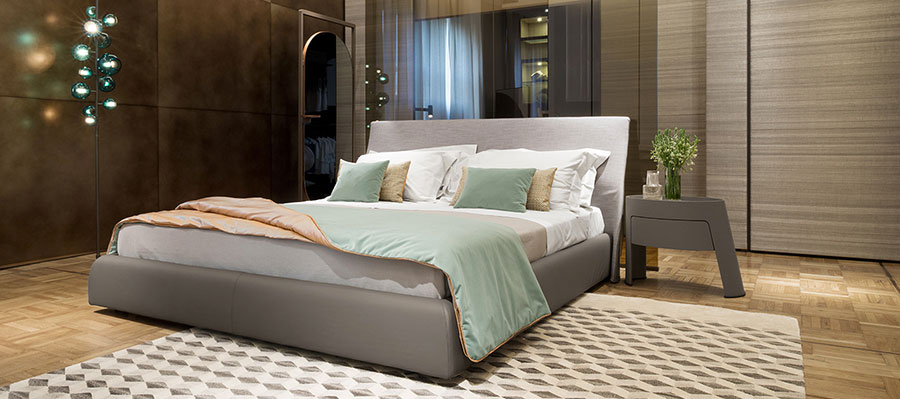 Modello di camera da letto di Giorgetti n.5