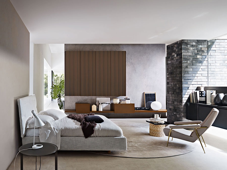 Modello di camera da letto di Molteni n.3