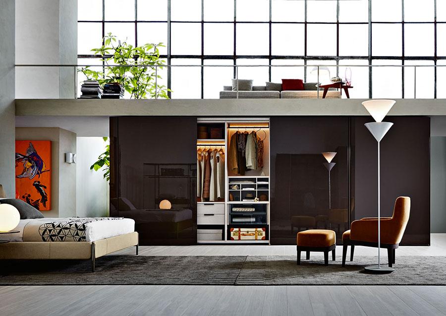 Modello di camera da letto di Molteni n.4