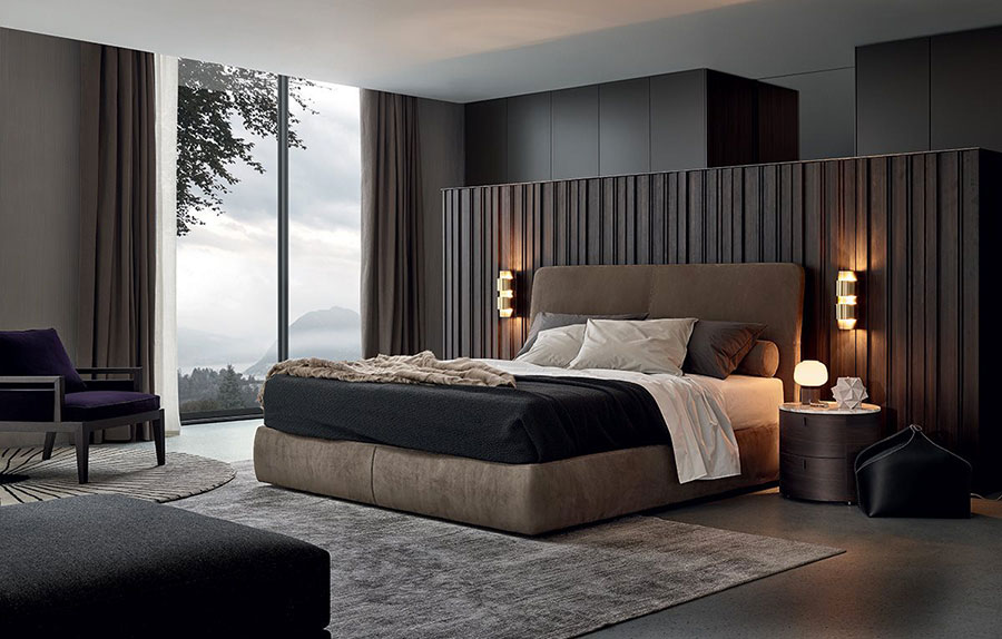 Modello di camera da letto di Poliform n.1