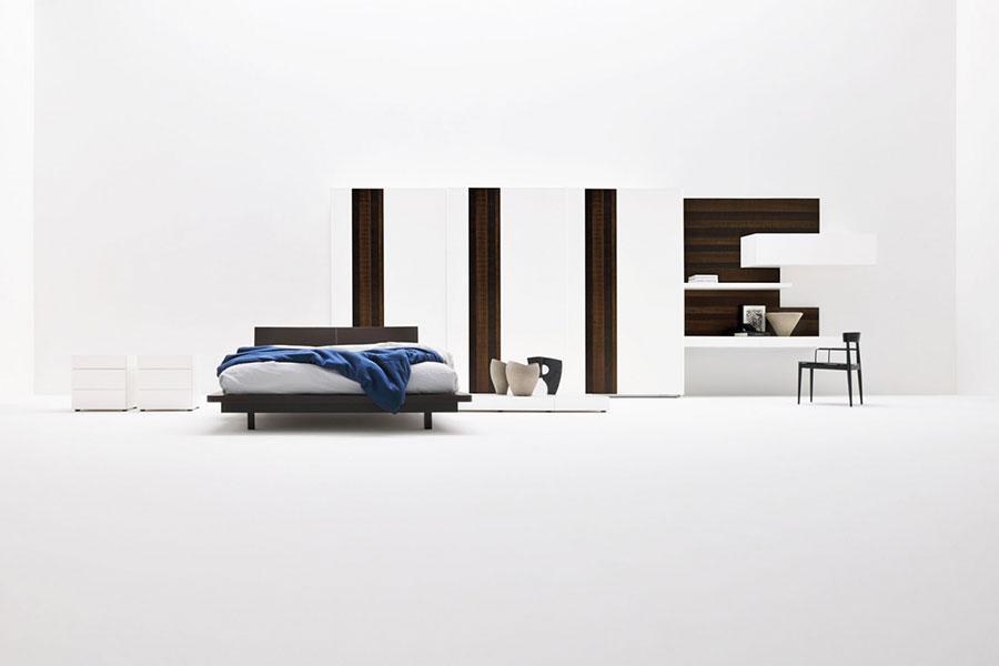 Modello di camera da letto di Silenia n.5