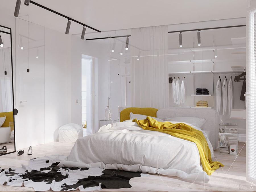 Arredamento per camera da letto minimal chic 1