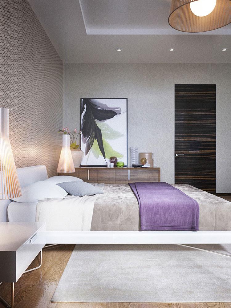 Arredamento per camera da letto minimal chic 2
