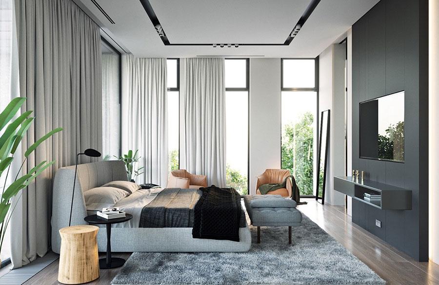 Arredamento per camera da letto minimal chic 3