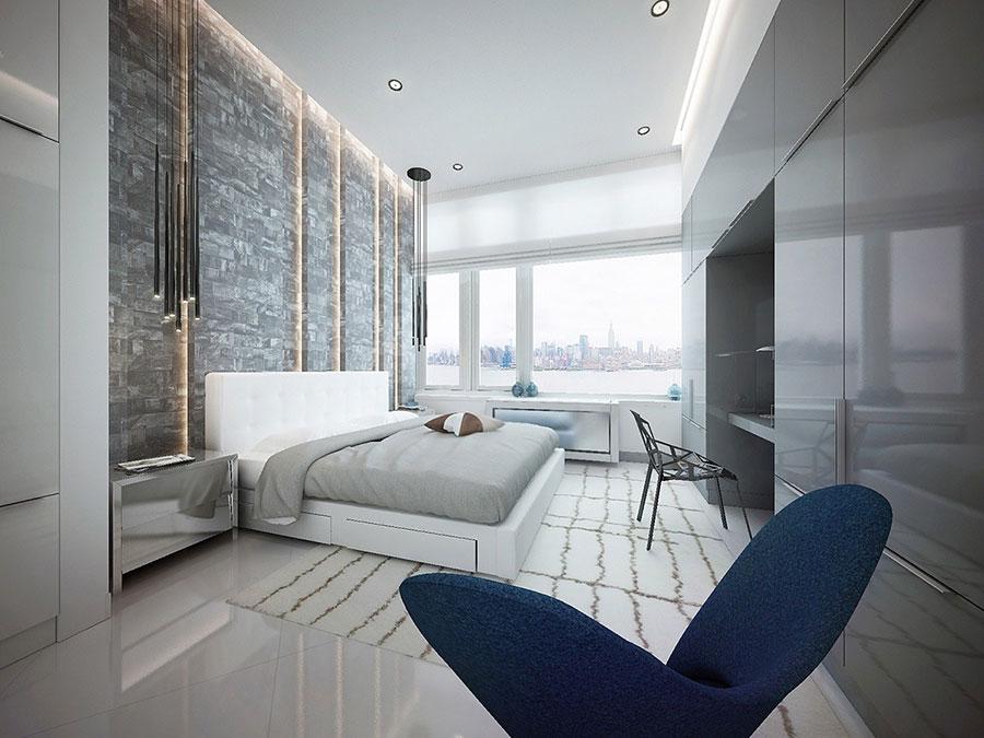 Arredamento minimal chic tante idee per una casa dal for Camera minimal
