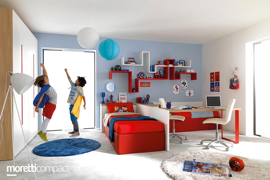 Camere Per Ragazzi Moretti : Le migliori marche di camerette per bambini mondodesign