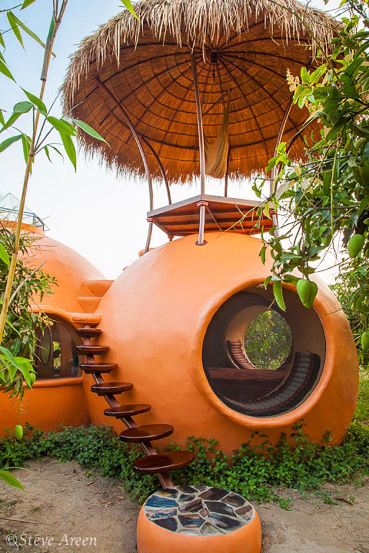 Progetto di casa da sogno a cupola n.02