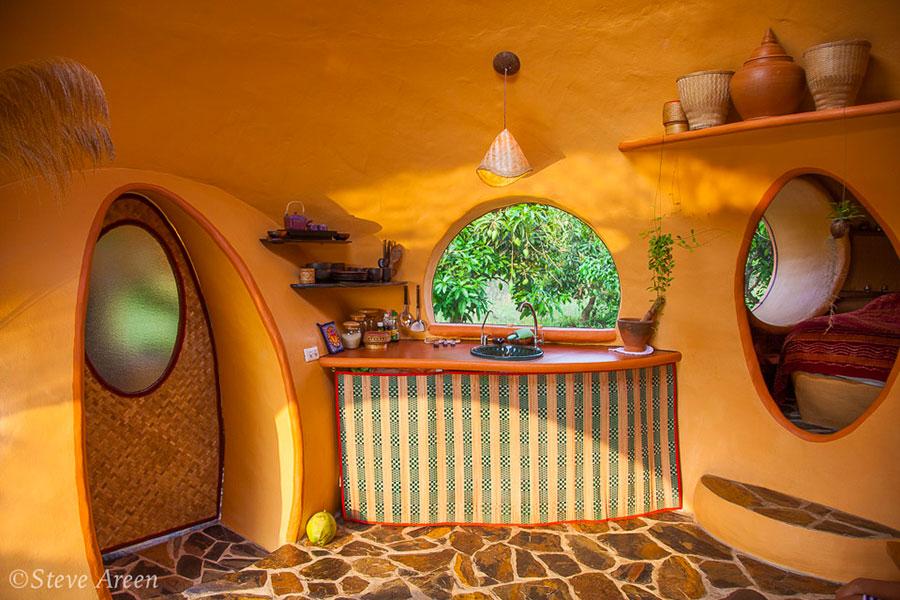 Progetto di casa da sogno a cupola n.06