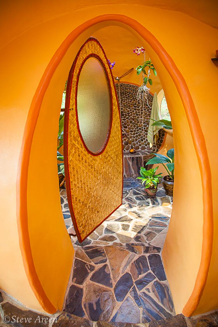 Progetto di casa da sogno a cupola n.08