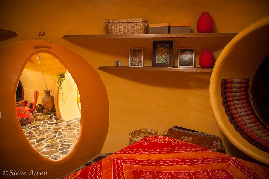Progetto di casa da sogno a cupola n.14