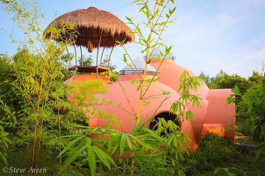 Progetto di casa da sogno a cupola n.15