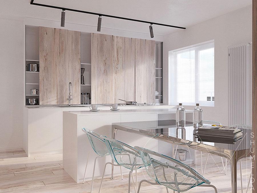 Arredamento minimal chic tante idee per una casa dal for Cucina minimal