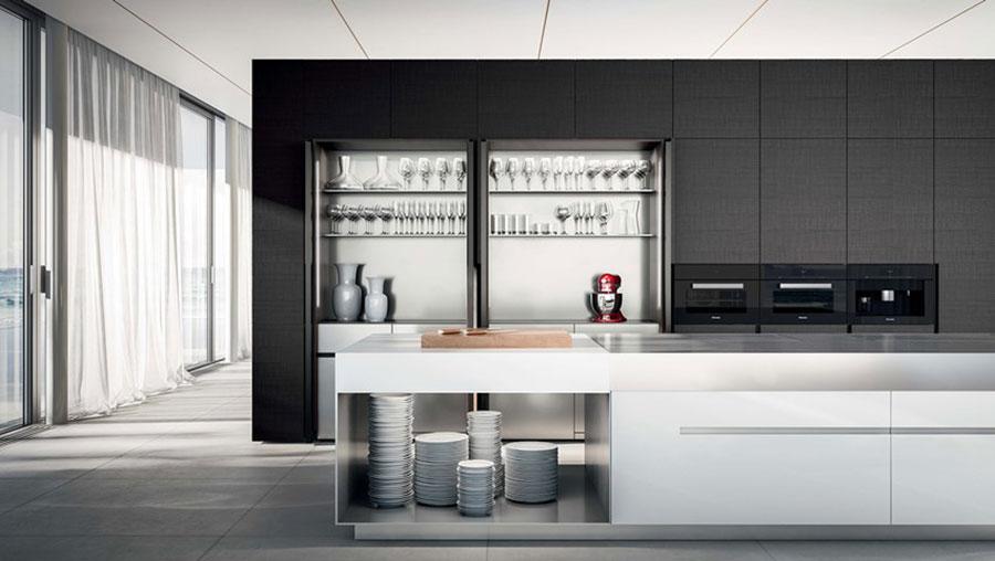 Modello di cucina a scomparsa Elmar n.3