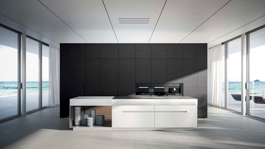 Modello di cucina a scomparsa Elmar n.4
