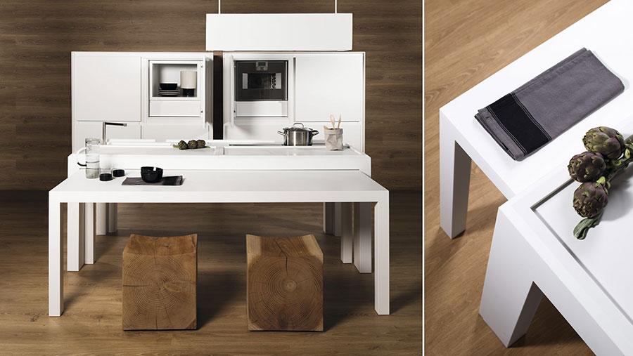 Modello di cucina a scomparsa TMItalia n.2