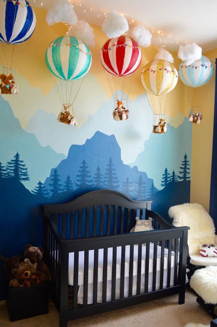 Idee per decorare la cameretta dei neonati n.03