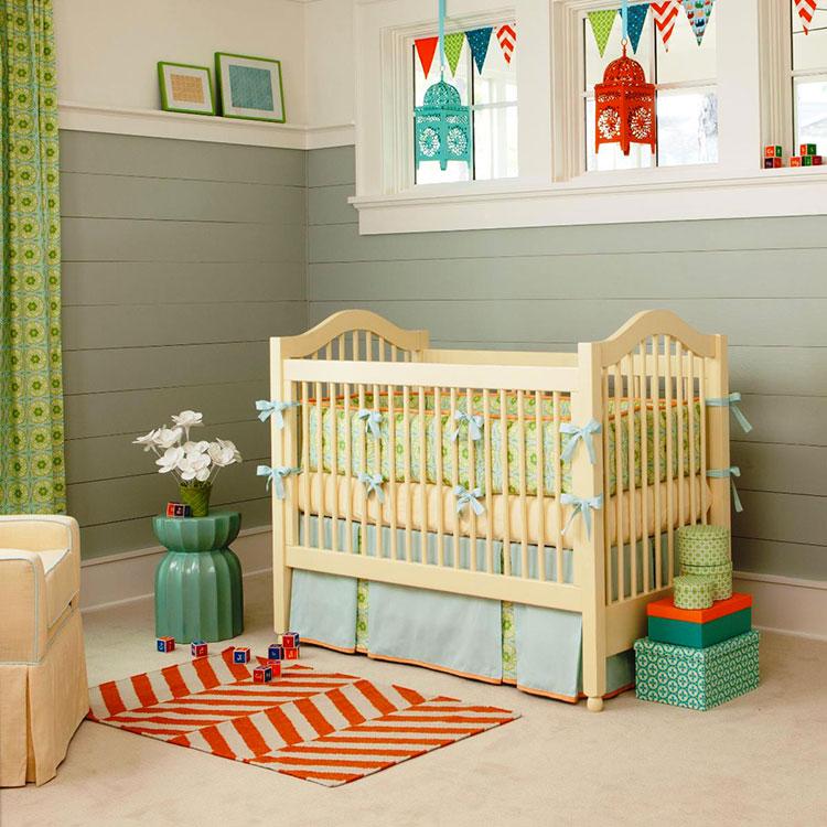 Idee per decorare la cameretta dei neonati n.06