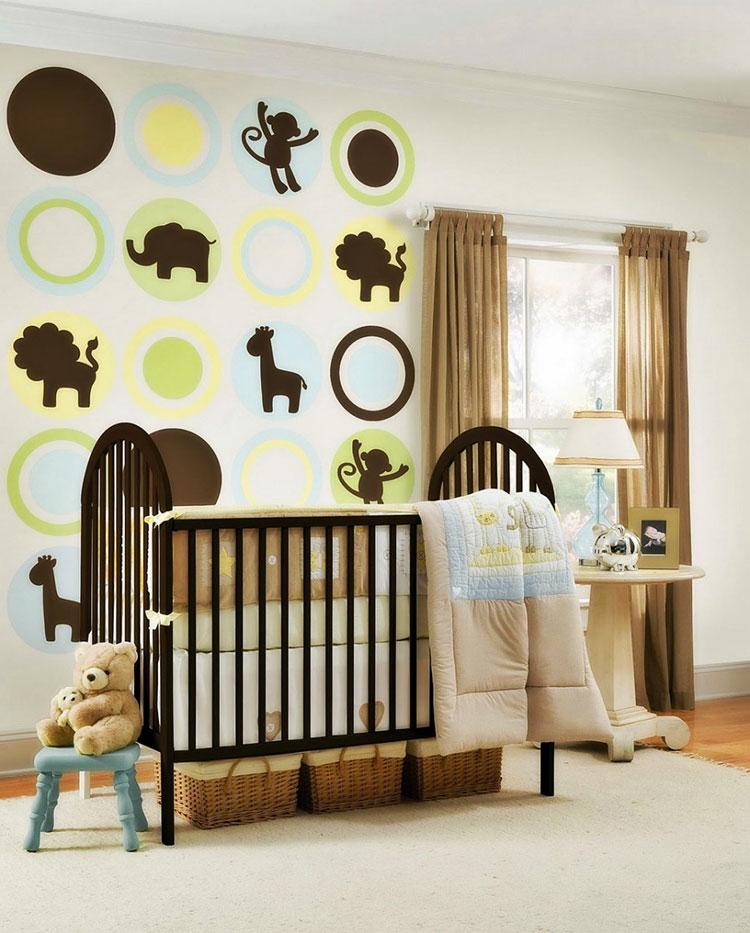 Idee per decorare la cameretta dei neonati n.07