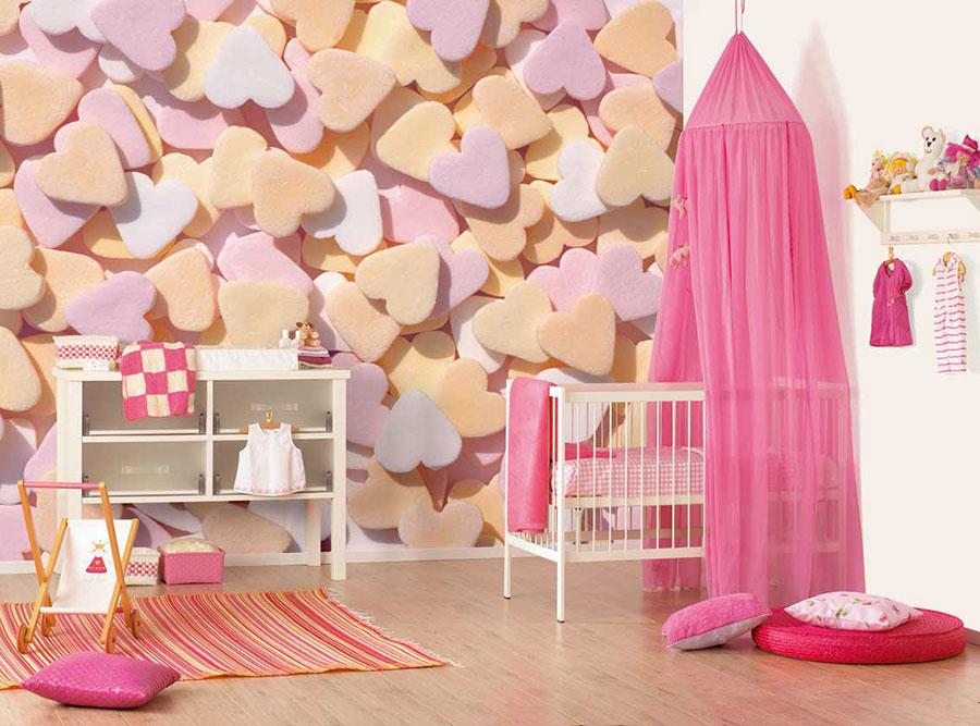 Idee per decorare la cameretta dei neonati n.08